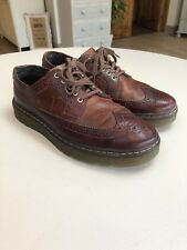 Men's Brown Dr Martens Brogue Shoes Size 8