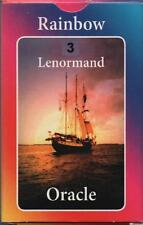 RAINBOW LENORMAND ORACLE CARDS - Katrin Rosali Giza - NEW