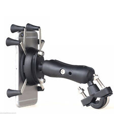 Motorcycle Bike Handlebar X-Shape 6 Feet 3.5-6 Inch Cell Phone GPS Mount Holder