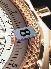Bentley Key Plaque Turbo R Brooklands Mulsanne Plaque #KY02 Chrome Insert Badge