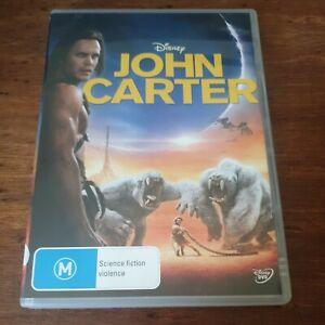 John Carter DVD R4 Like New! FREE POST