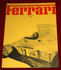 Ferrari Owners Club monthly Newsletter January/March 1976