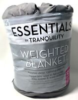 Essentials by Tranquility Weighted Blanket 48 in x 72 in 12 lb Gray