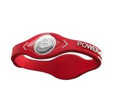 New Power Wristband Energy Balance Silicone Bracelet - Red (Size Medium)