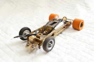 Imai 1/32 adjustable brass chassis and motor vintage 1960s Revell MRRC Riko