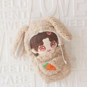 WANNA ONE EXO JK 20cm Doll's Clothes Rabbit Sleeping Bag Shoulder Bag【no Doll】
