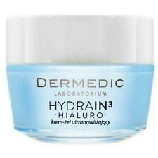 Dermedic Hydrain 3 HIALURO ULTRA-HYDRATING Face Cream for Very Dry Skin GEL 50G