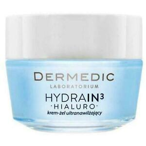 Dermedic Hydrain 3 HIALURO ULTRA-HYDRATING Face Cream for Very Dry Skin GEL 50G
