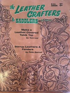 Leathercrafter And Saddlemaker Journal 2001 Sept/Oct Volume 2 #5