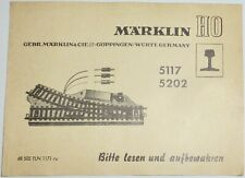 Märklin 5202 Électrique Weichenpaar voie M en emballage D'origine