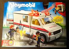 USA PLAYMOBIL Ambulance Krankenwagen Nr 5952 Sound & Licht Neu & OVP