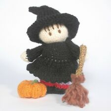 Halloween Sorcière Bitsy Baby Knitting Pattern