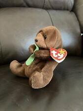 Ty Beanie Baby Seaweed Otter With Original Tags Multiple Errors Mint Condition