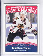 16/17 OPC Chicago Blackhawks Jonathan Toews League Leaders card #651