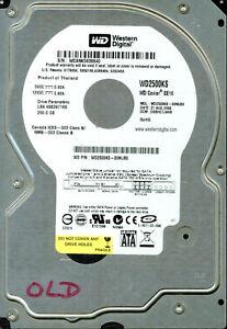 WD2500KS-00MJB0   DCM: DSBHCTJAHB   WESTERN DIGITAL SATA 250GB  AUG 2006