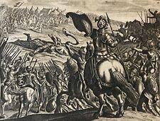 David  Goliath Jacob Matham d'après Hendrick Goltzius 1606 - 1652 Israël fronde