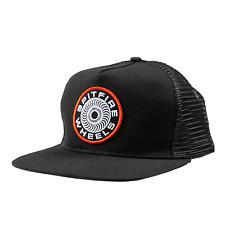Spitfire Skateboard Hat Classic 87 Swirl Mesh Trucker Black
