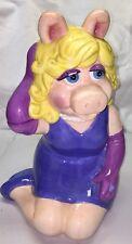 Miss Piggy Cookie Jar Jim Henson Collection Treasure Craft Muppets Kermet