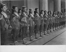 Photo originale La regina delle Amazzoni peplum perruque