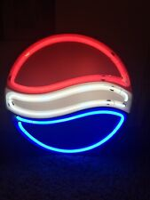 Neon Light Up Pepsi Sign (Great Condition) Man Cave Bar Restaurant Decor