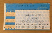 1995 LYNYRD SKYNYRD TESLA DALLAS CONCERT TICKET STUB FREE BIRD SWEET HOME ALABAM