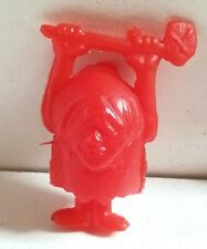 THE FLINTSTONES WEIRDLY GRUESOMES Cereal Premium Toy PERU 1994 Rubber Figure
