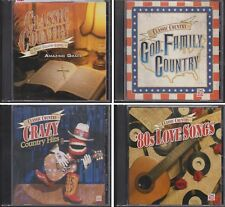 TIME LIFE Classic Country AMAZING GRACE GOD FAMILY CRAZY HITS 80s LOVE SONGS 4CD