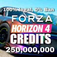 250 million of credits Forza Horizon 4 Xbox One and PC (Read the Description)