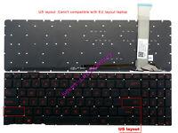 New ASUS GL552 GL552J GL552JX GL552V GL552VL GL552VX laptop US backlit keyboard