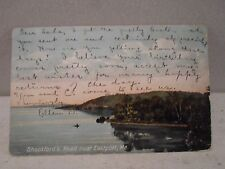 Eastport Me Maine, Shackford's Head -early postcard  1907