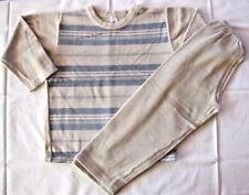 PETIT BATEAU Pyjama beige et ciel   T 6 ans