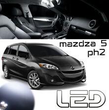 Mazda 5 PH2 CW 3 Ampoules LED Blanc éclairage intérieur habitacle plafonnier