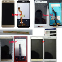 New LCD Display Digitizer Touch Screen for Huawei Series Samrt Phone + tools 3M