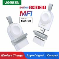 UGREEN MFi Certified Magnetic Wireless Charger For Apple Watch Series 5/4/3/2/1