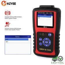 Automotive Scanner OBD2 Airbag Engine ABS SRS SAS OBDII Car Diagnostic Tool US