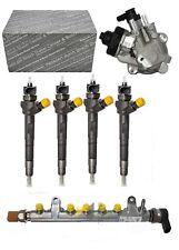 Injektor 03L130277J (4x) + Hochdruckpumpe 03L130755 + RAILROHR Audi VW 2,0 TDI