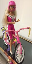 Mattel 1992 Barbie Dress N Go Mountain Bike Set Includes Blonde Barbie Vintage