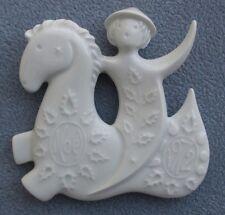 Haviland 1972 Prolongeau Prancing Horse Christmas Ornament Mint