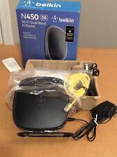 BELKIN N450 Wi-Fi Dual-Band N Router. NEW.