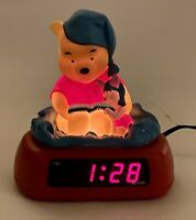Disney Fantasma Winnie The Pooh And Piglet Digital Alarm Clock Night Light