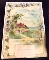 Vintage 1932 Compliments of George Bauer General Merchandise & Banker Calendar