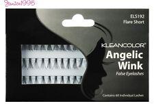 KLEANCOLOR Angelic Wink False Eyelashes 60 Individual lashes SHORT FLARE #192