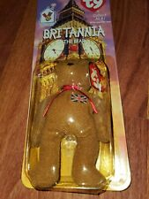 Mcdonalds TY Beanie Baby Britannia The Bear RARE