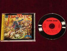 ELTON JOHN CAPTAIN FANTASTIC BROWN DIRT COWBOY 1995 ALBUM w BONUS TRACKS RARE CD