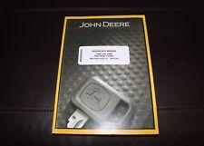 JOHN DEERE 318D 320D SKID STEER LOADER OPERATORS OPERATION  MANUAL