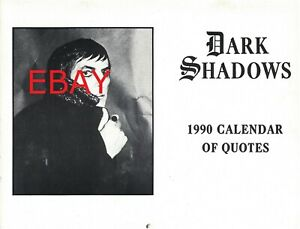 HUGE LOT Dark Shadows wall calendars includes special editions with rare photos!
