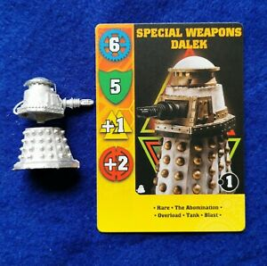 Dr Who Exterminate game miniature of Special Weapon Dalek