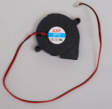 50mmx15mm 3500RPM Brushless DC Cooling Blower Fan 12V 0.16A 3.75cfm quiet