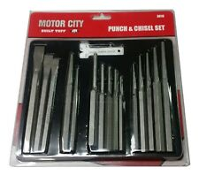 16-Pc. Punch and Chisel Set