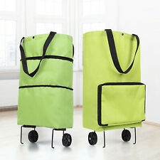 Ecofriendly Portable Multi-Function Trolley Bag with Wheels Grocery Cart